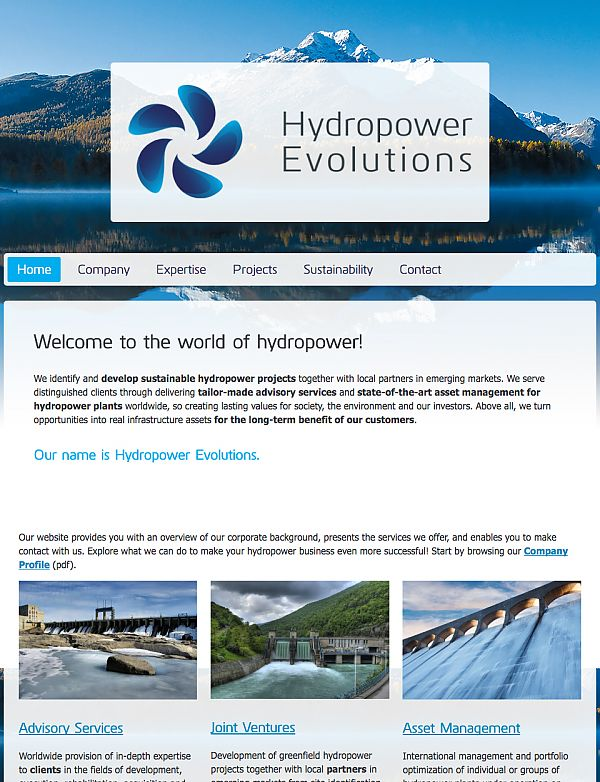 Hydropower Evolutions