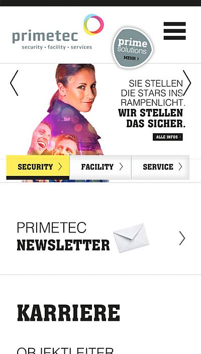 primetec – Security, Facility und Services